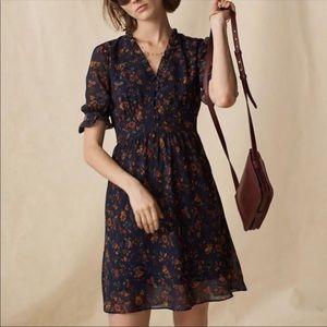 Madewell Freesia Ruffle Dress